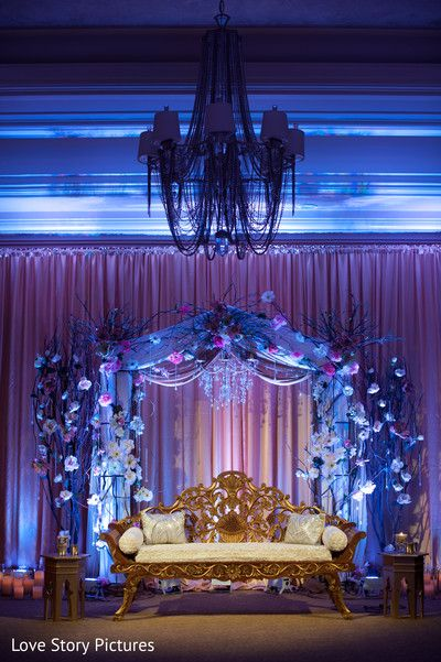 Wedding  Stage Decoration Ideas 2016-dim lights