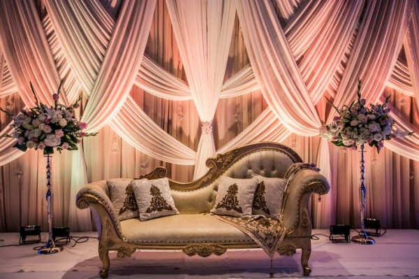 Wedding  Stage Decoration Ideas 2016-fabric