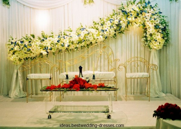 Wedding  Stage Decoration Ideas 2016-reception