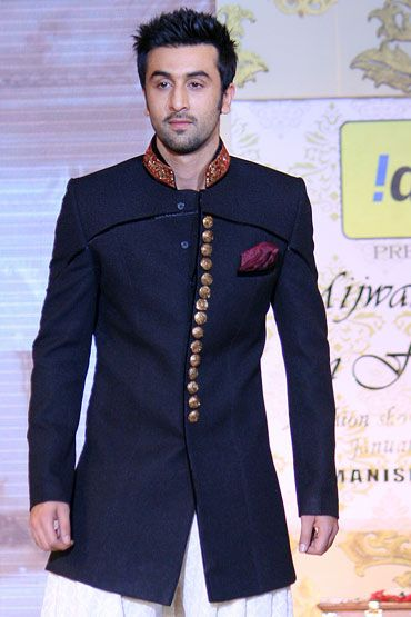wedding sherwani Trend 2016-black