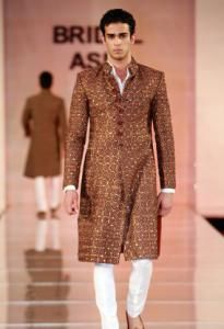 wedding sherwani Trend 2016- brown
