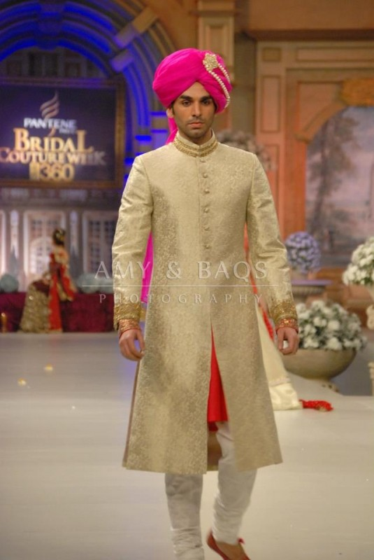wedding sherwani Trend 2016- pink