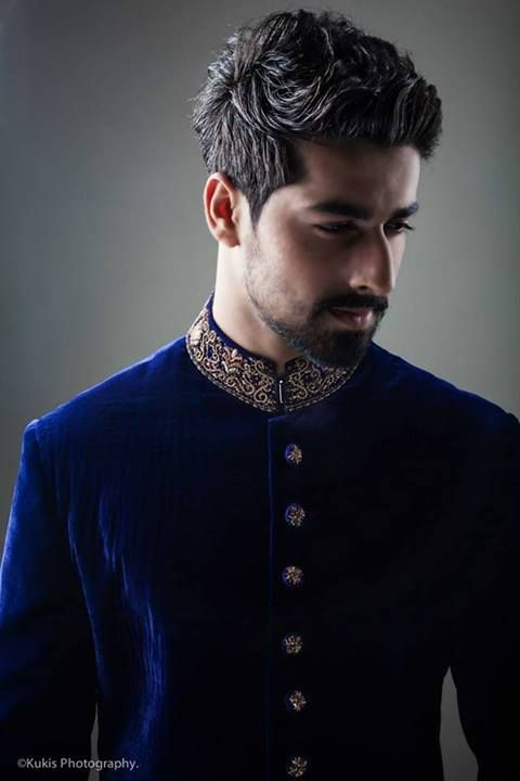 wedding sherwani Trend 2016- velvet