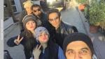 Aiman Khan Minal Khan murree pics