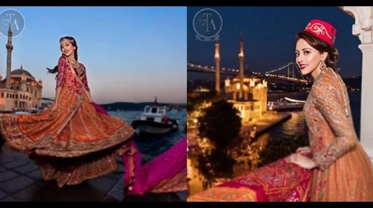 See Ainy Jaffri's latest Photoshoot for Farah Talib Aziz