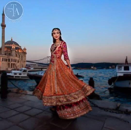 Ainy Jaffri's latest Photoshoot for Farah Talib Aziz (6)