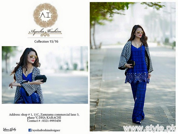 Ayesha Ibrahim Winter Collection 2016 For Girls 1
