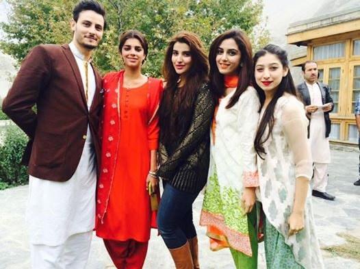 Casual Clicks of Pakistani Celebrities- cast