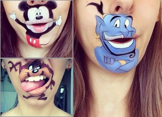 Crazy and Funny Lip Art Designs 2