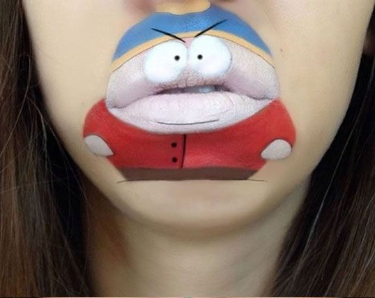 Crazy and Funny Lip Art Designs- awsume2