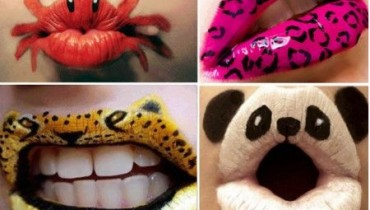 Crazy and Funny Lip Art Designs