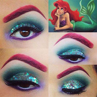 Eye Makeup for Disney Lovers- aura