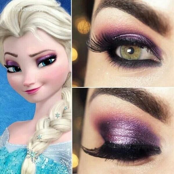 Eye Makeup for Disney Lovers- creative