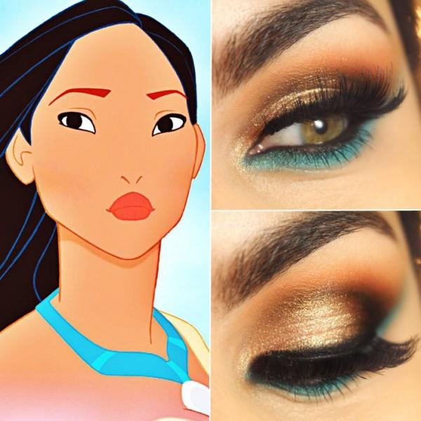 Eye Makeup for Disney Lovers- mulan