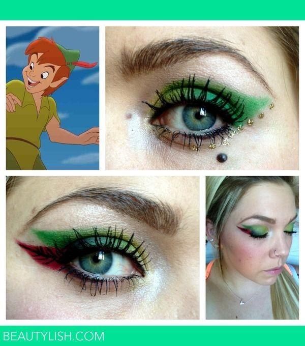 Eye Makeup for Disney Lovers-peter pan