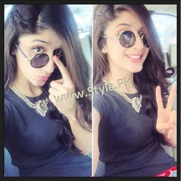 Fashion Diva Mawra Hocane during promotions of Sanam Teri Kasam (3)