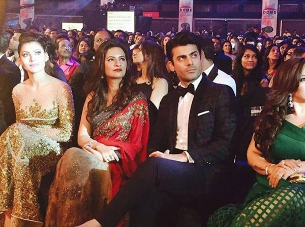 See Fawad Khan with his wife at Filmfare Awards 2016