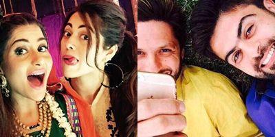 Girls selfies verses Boys - cricket