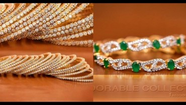 See Gold Plated bangles designs for brides 2016