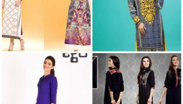 Latest Pakistani Casual Dresses Designs For Women