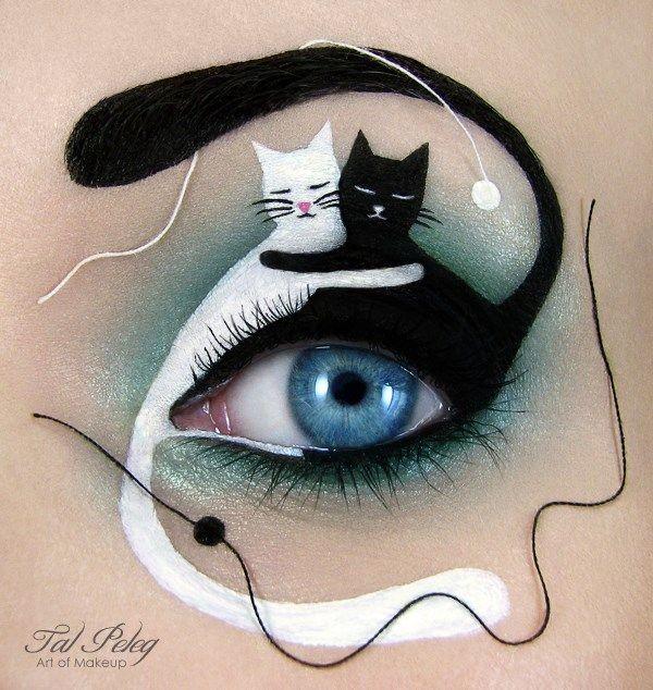 Make up Art- cats