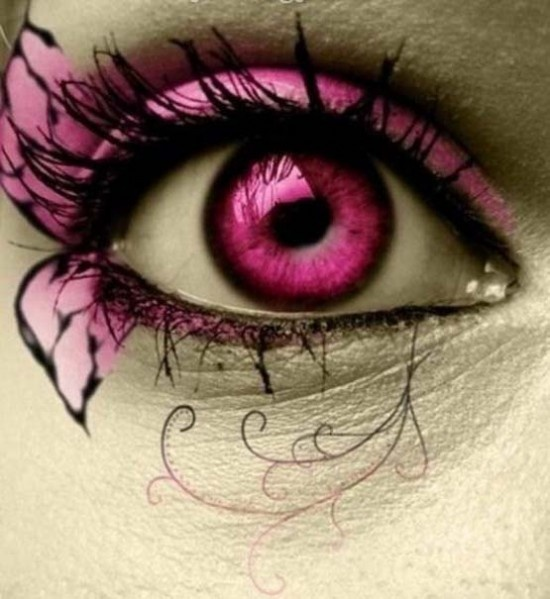 Make up Art- pink