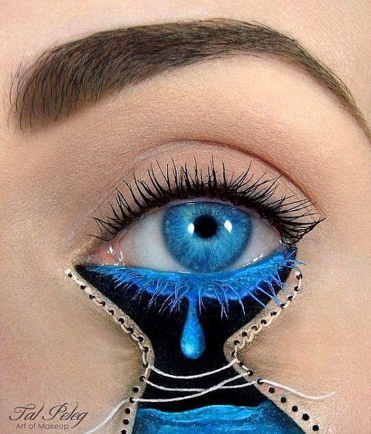 Make up Art- tears