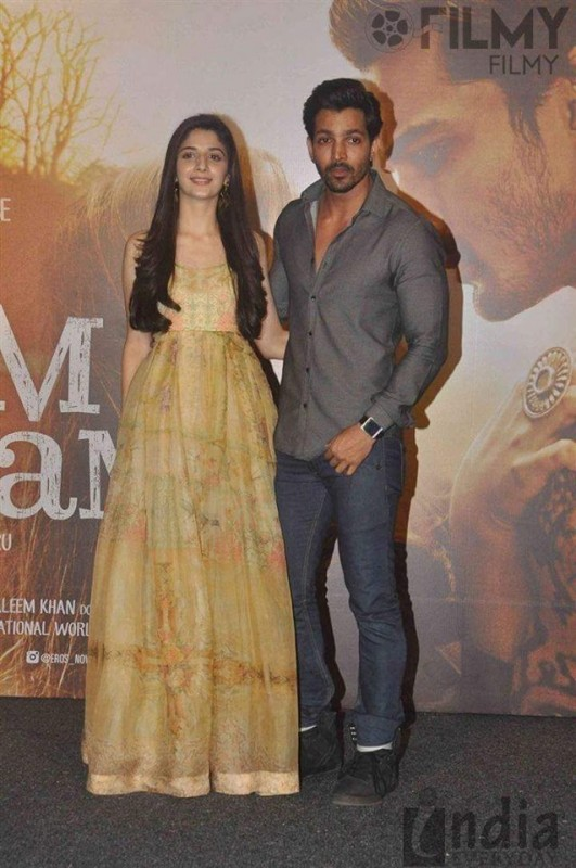Mawra Hocane at the music launch of Sanam Teri Kasam (2)