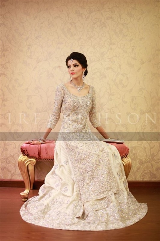 Pakistani Brides In White Style