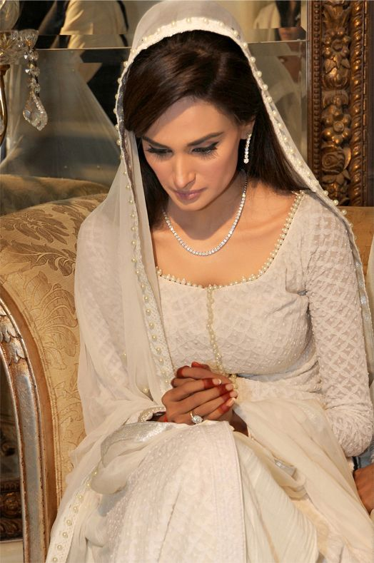 Pakistani Brides in White