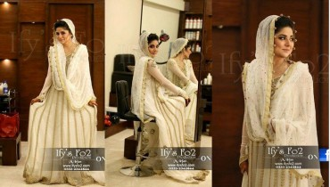 Pakistabi Brides in White