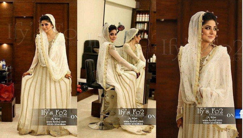 Pakistani Brides In White