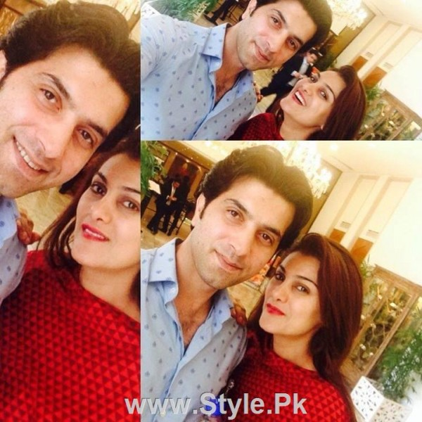 Pakistani Actors with their wives (9)