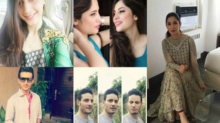 Pakistani celebrities 2016