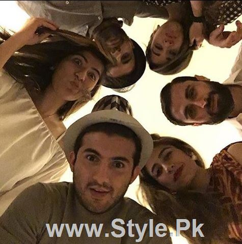 Pictures of Pakistani Celebrities on New year's Eve (5)