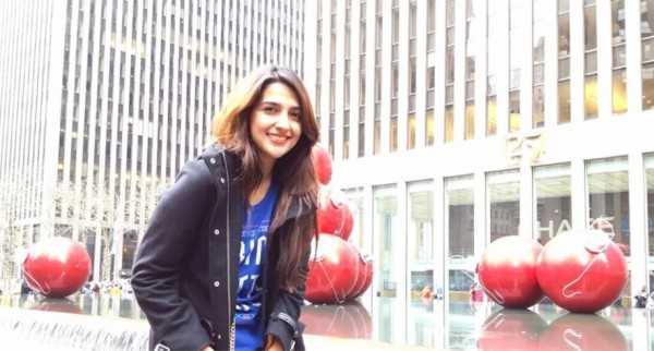 Rabab Hashim is on vacations in USA (3)