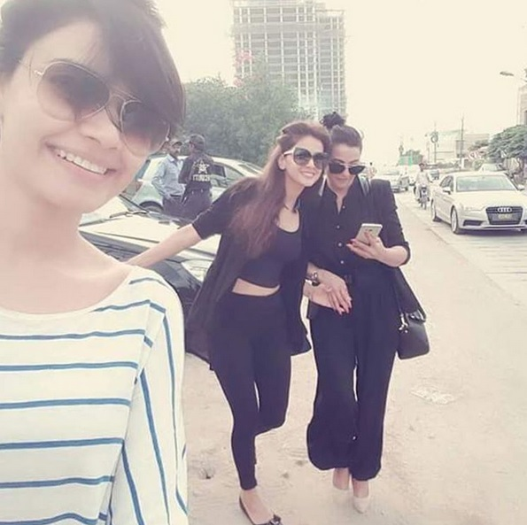 See Saba Qamar and Kiran Haq enjoying vacations in Dubai