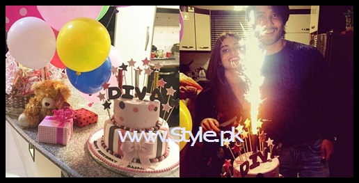 See Sajjal Ali celebrating her 22nd birthday
