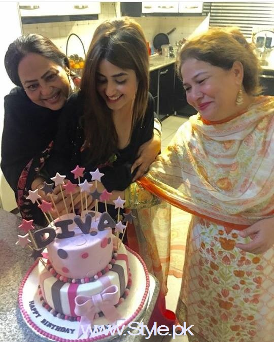 Sajjal Ali celebrating her 22nd birthday (2)