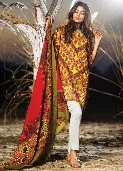 Sana Safinaz Winter Shawl Dresses 2016 For Women004