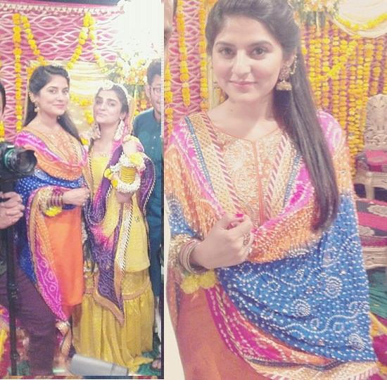 Sanam Baloch at her Brother's Mehndi (7)
