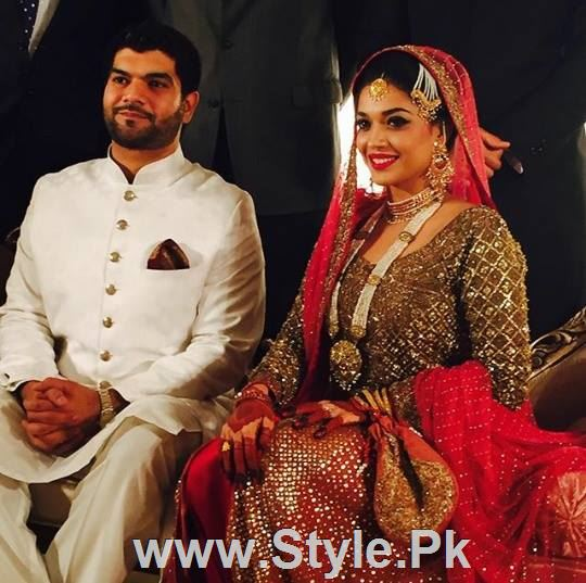 See Sanam Jung on her Wedding day