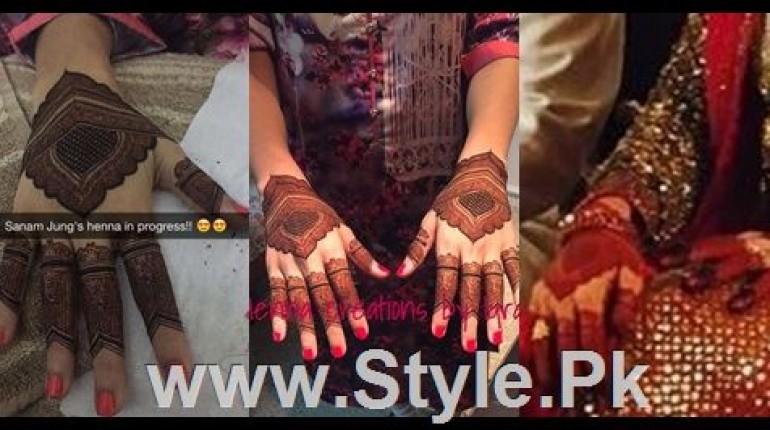 See Sanam Jung's Henna's Details