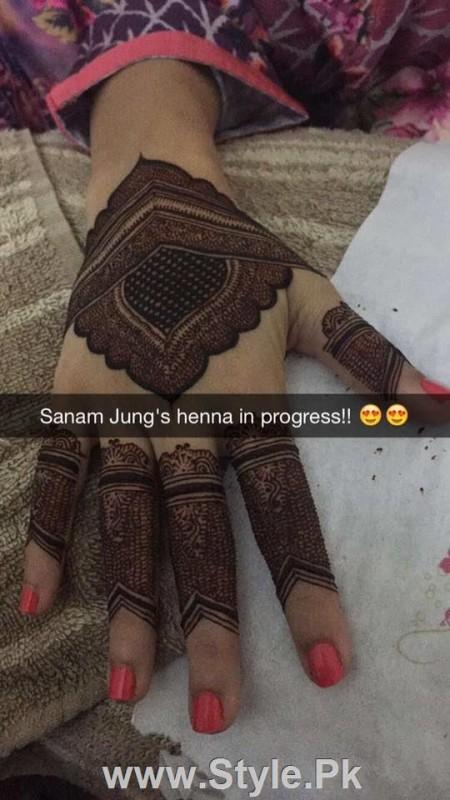 Sanam Jung's Henna's Details (2)