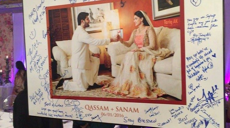 See Sanam Jung's Mehndi and Nikkah Ceremony