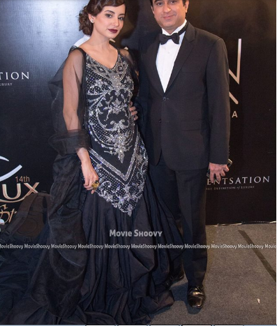 Sarwat Gillani dress