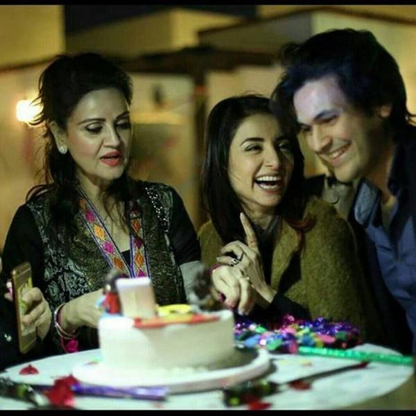 Sarwat gilani celebrated her Birthday-2