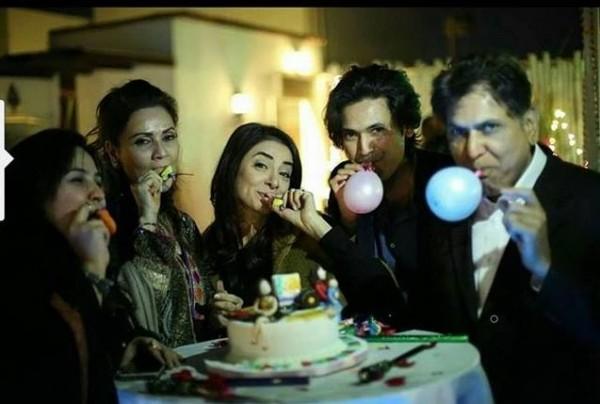 Sarwat gilani celebrated her Birthday