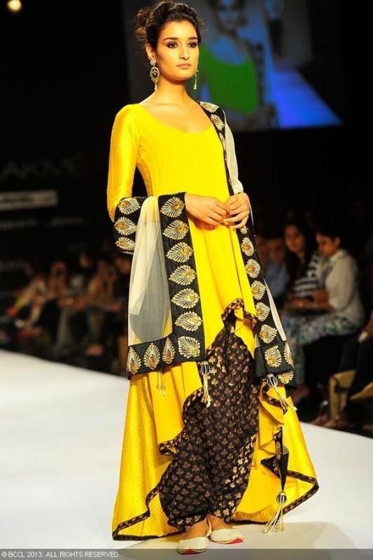 Shalwar Kameez Trend 2016-yellow