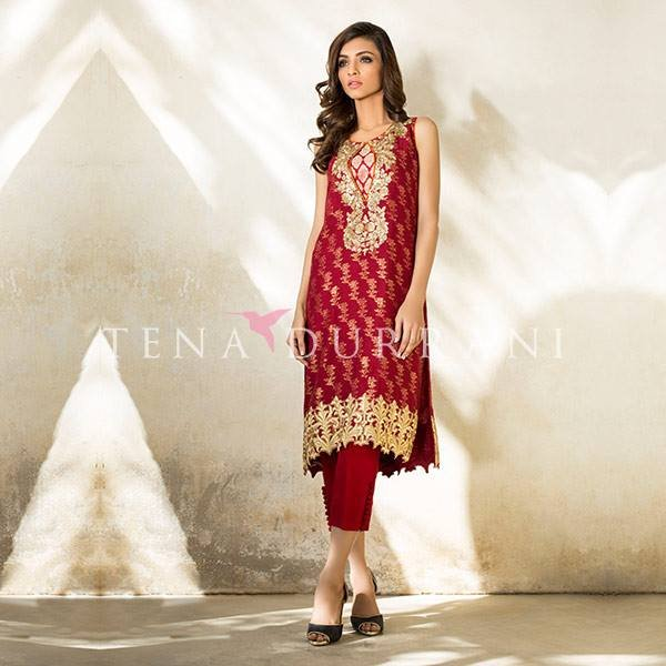 Tena  Durrani Party Wear Collection 2016 For Women009